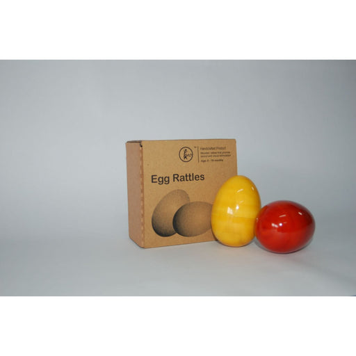 The Nestery: Maya Organic - Egg Rattles - Set Of 2