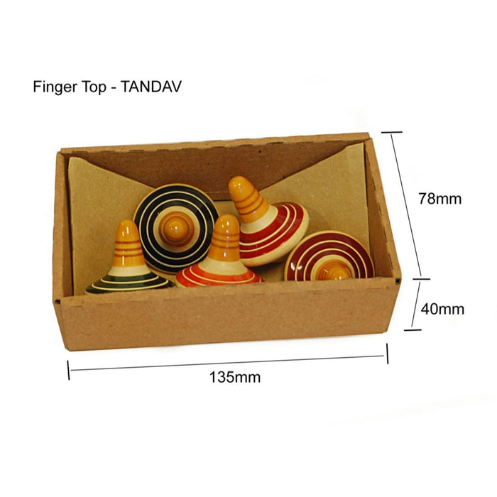 The Nestery: Maya Organic - Tandav Finger Top - Set Of 5