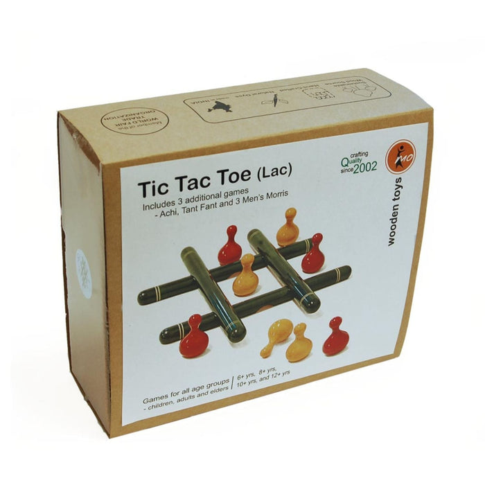 The Nestery: Maya Organic - Tic Tac Toe (Lac)
