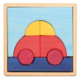 The Nestery: Mebtoys - Car Puzzle