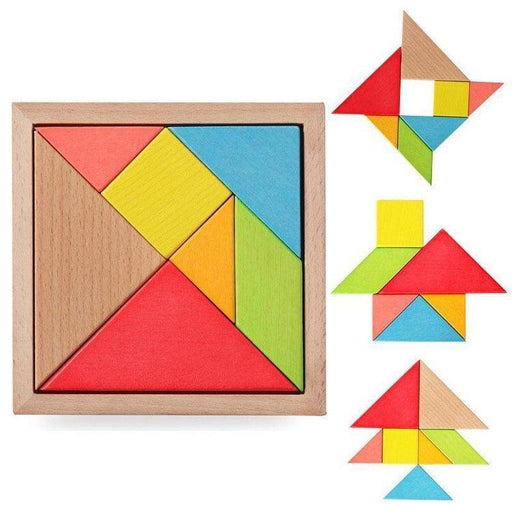 The Nestery: Mebtoys - Tangram