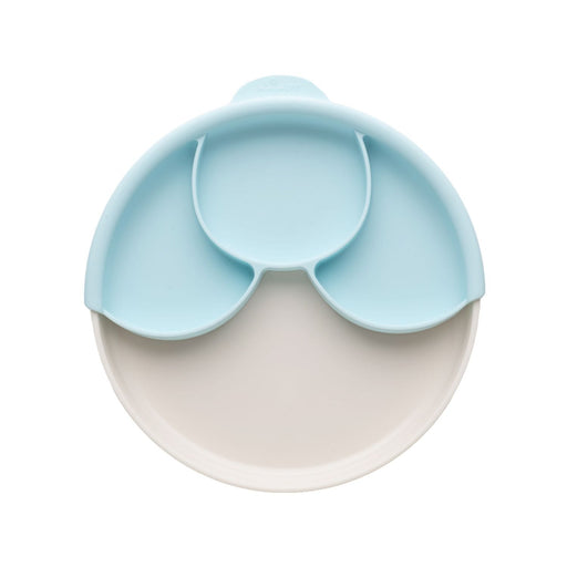 The Nestery: Miniware - Suction Plate With Dividers