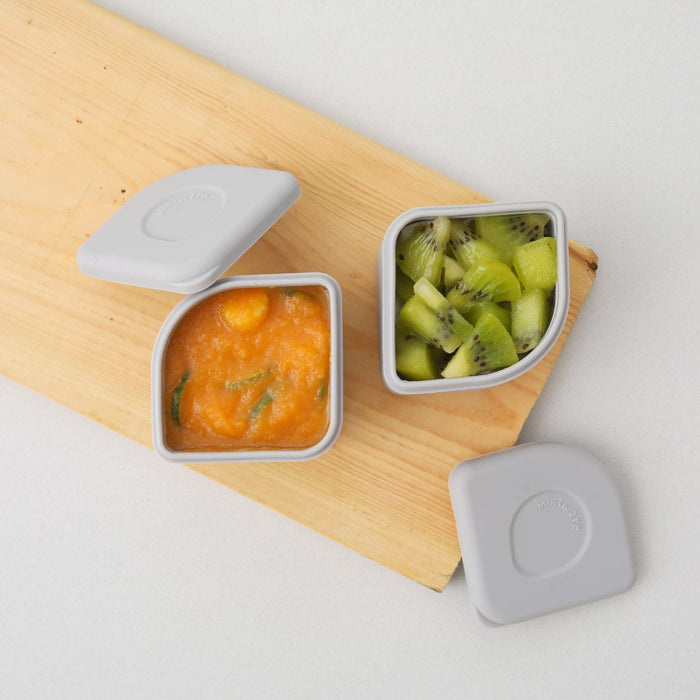 The Nestery: Miniware - Leakproof Silipods Set Of Two