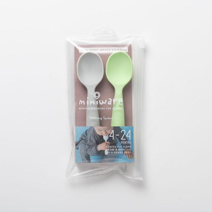 The Nestery: Miniware - Teething Spoon Set