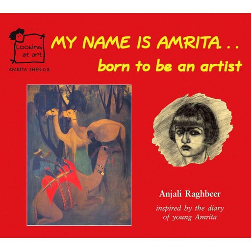 The Nestery: Tulika - My Name Is Amrita... Born To Be An Artist