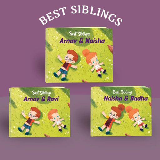 The Nestery : Oh! My Name - Best Siblings Personalized Children Book