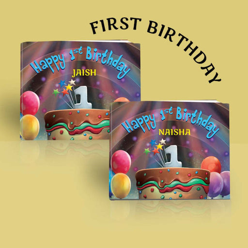 The Nestery : Oh! My Name - Happy 1st Birthday - Personalized Book