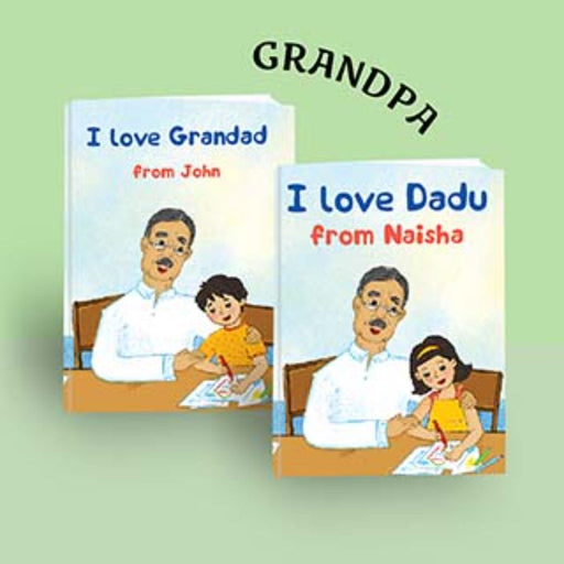 The Nestery : Oh! My Name - I Love You Grandfather Personalized Children Book