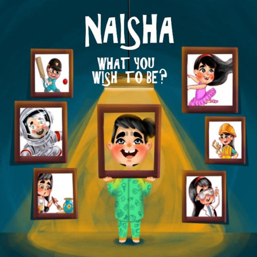 The Nestery : Oh! My Name - What You Wish To Be… Personalized Children Book
