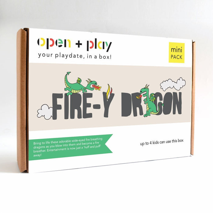 The Nestery: The Open Play - FIRE-Y DRAGON