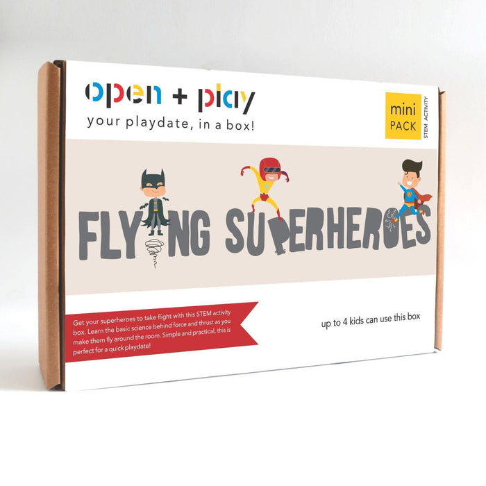 The Nestery: The Open Play - FLYING SUPERHEROES
