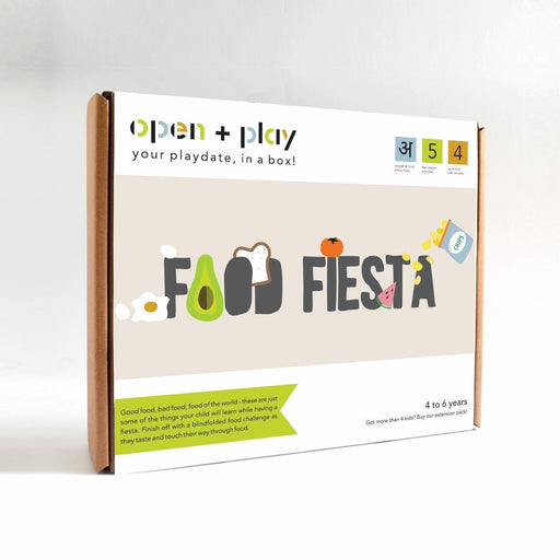 The Nestery: The Open Play - FOOD FIESTA