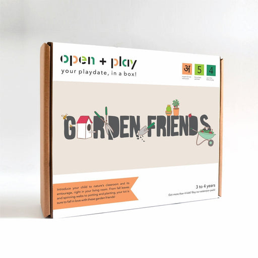 The Nestery: The Open Play - GARDEN FRIENDS