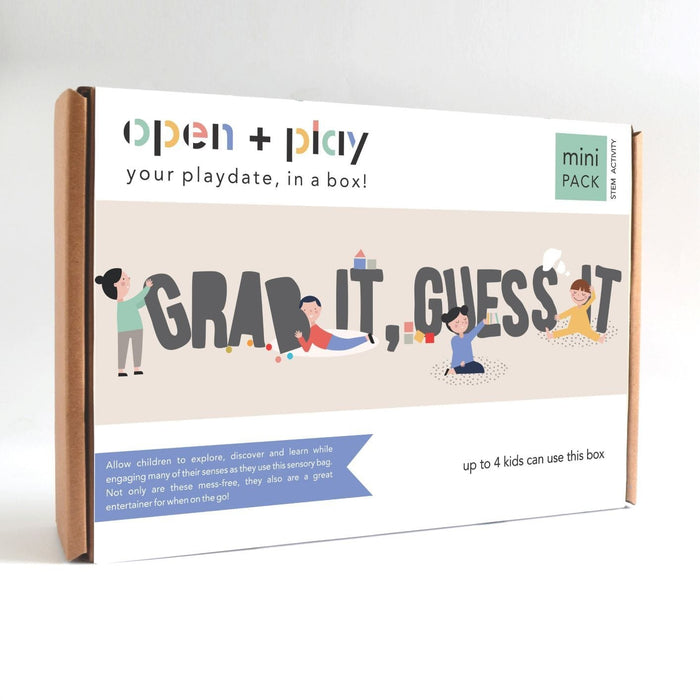 The Nestery: The Open Play - GRAB IT, GUESS IT