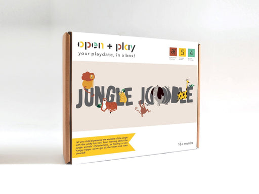 The Nestery: The Open Play - JUNGLE JUMBLE