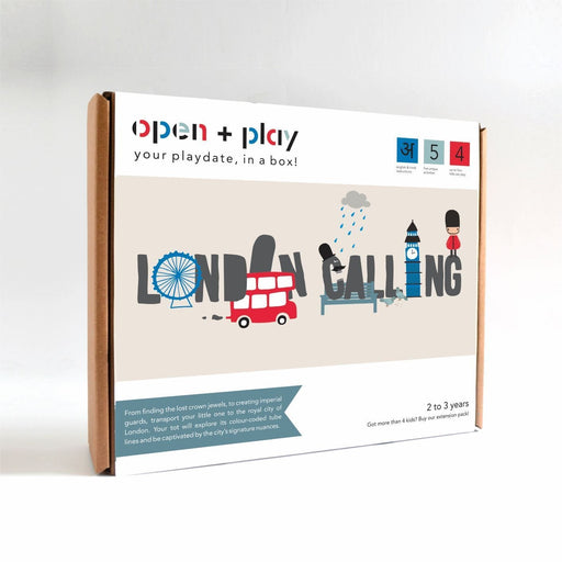 The Nestery: The Open Play - LONDON CALLING