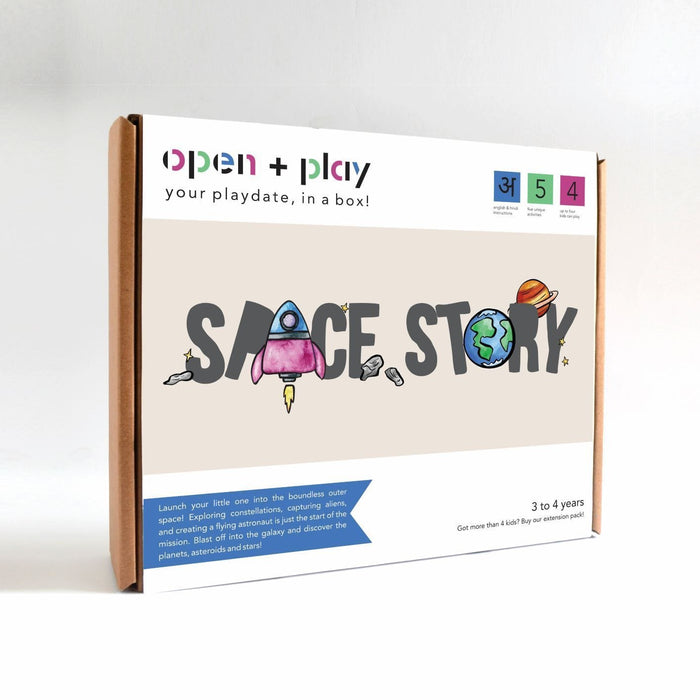 The Nestery: The Open Play - SPACE STORY