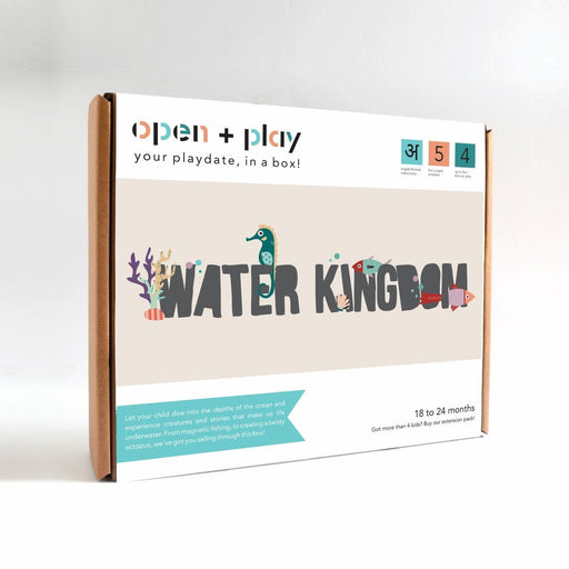 The Nestery: The Open Play - WATER KINGDOM