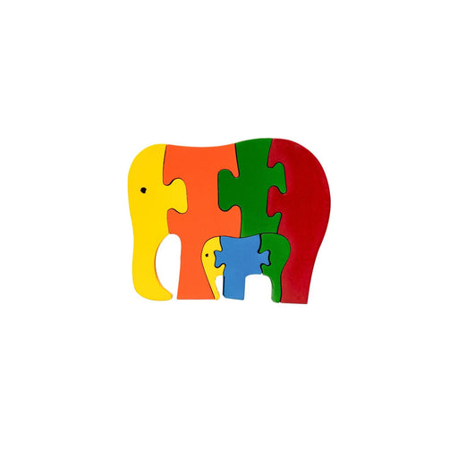 The Nestery : Oriori Kids - Elephant - Wooden Puzzle