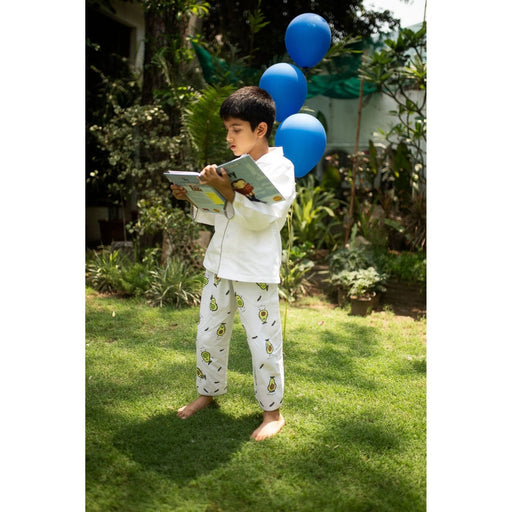 The Nestery : Oriori Kids - The Avo Nightsuit - Genius Collection