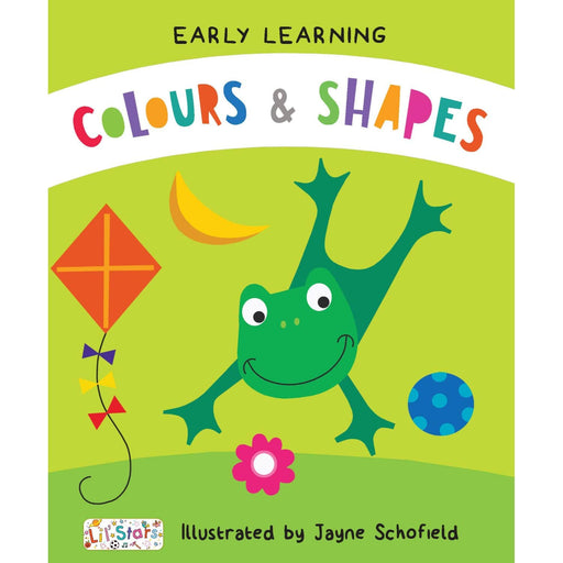The Nestery : Pegasus - Colours & Shapes - Early Learning Padded Board Books
