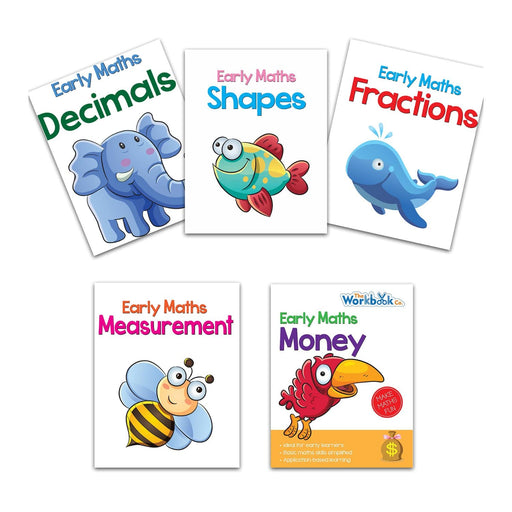 The Nestery : Pegasus-Early-Maths-Learning-Books-Combo-Set-Of-5