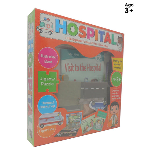 The Nestery : Pegasus-Little-Explorers-Box-Hospital