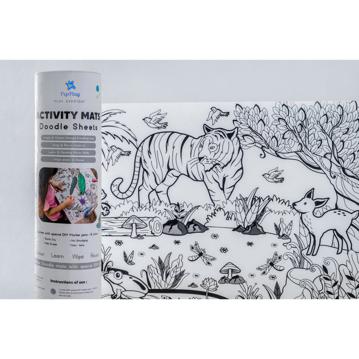 Activity Mats - Doodle Sheets
