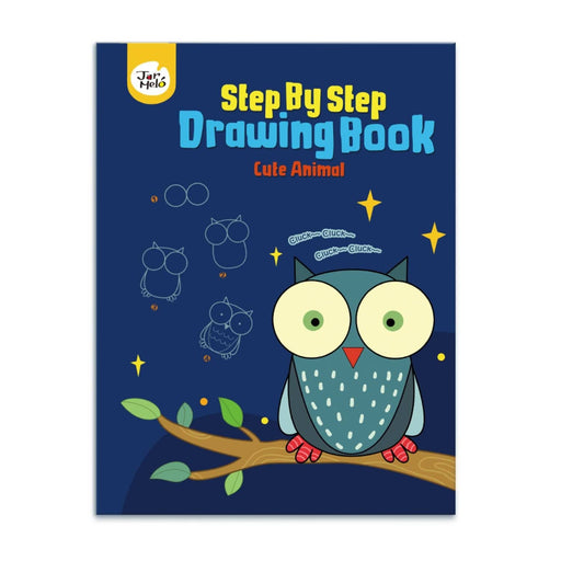 The Nestery : PepPlay - Step By Step Drawing Book - Cute Animal