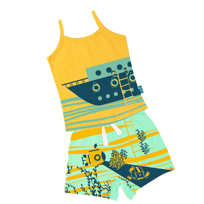 The Nestery : Plan B - Deep Sea Diving - Camisole & Shorts