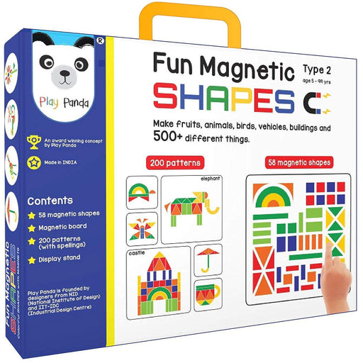 The Nestery : Play Panda - Fun Magnetic Shapes (Junior) : Type 2
