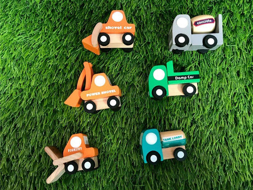 The Nestery: Playbug Toys - Construction Vehicles Car Set
