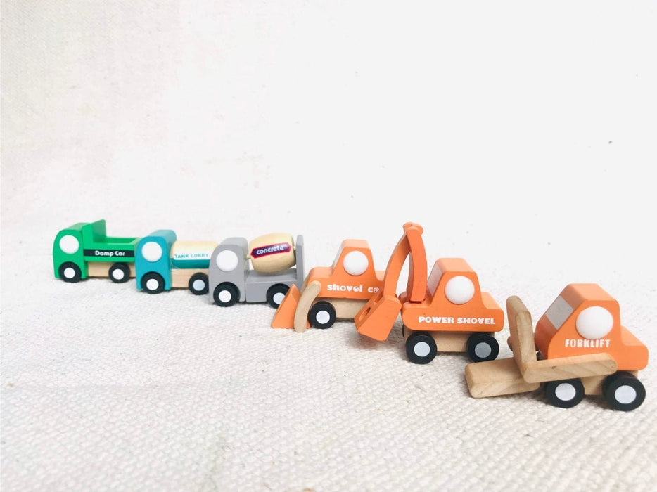 The Nestery: Playbug Toys - Wooden Road Track Set