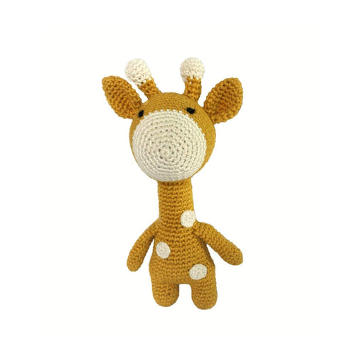 The Nestery: Plumtales - Handmade Amigurumi - Gigi - The Giraffe - Yellow
