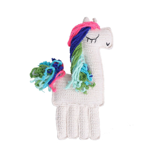 The Nestery: Plumtales - Handmade Amigurumi - Ragdoll Unicorn - Multi-Colour
