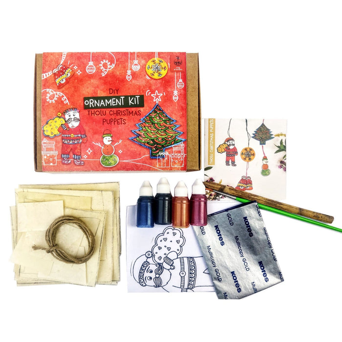 The Nestery : Potli - DIY Ornament Kit - Handmade Tholu Christmas Puppets