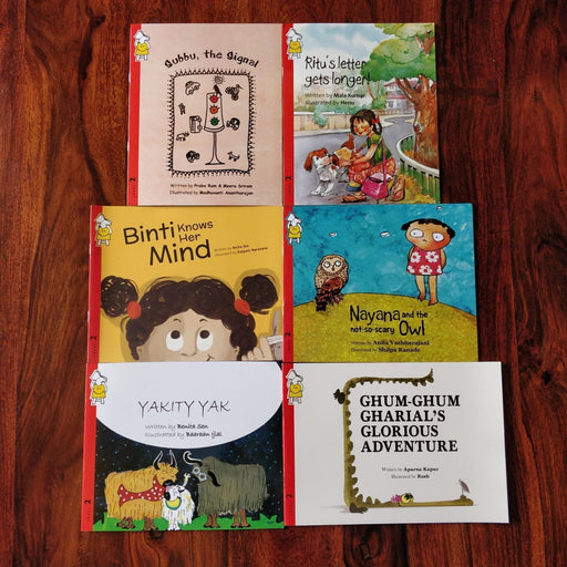 The Nestery: Pratham Books - FUN TODDLER READ ALOUDS COMBO