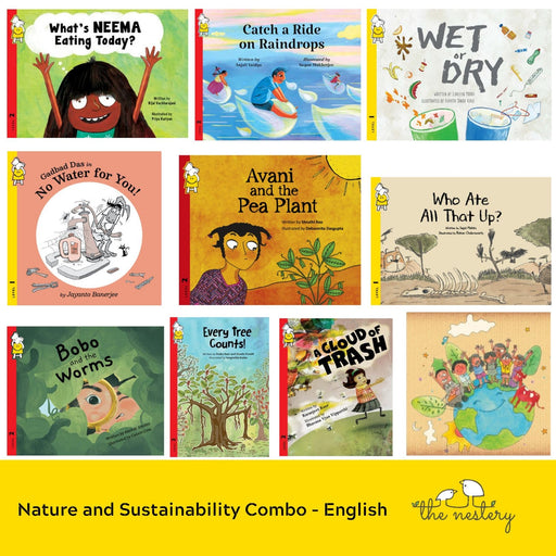 The Nestery : Pratham Books - Nature And Sustainability (Set Of 10 Books)