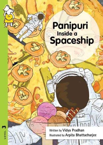 The Nestery: Pratham - PANIPURI INSIDE A SPACESHIP