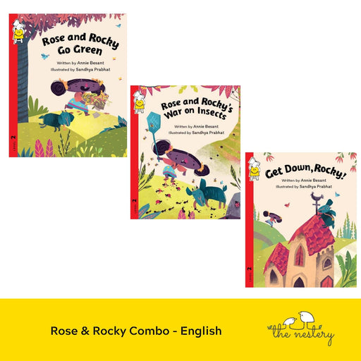 The Nestery : Pratham Books - Rose & Rocky Combo (Set Of 3 Books)