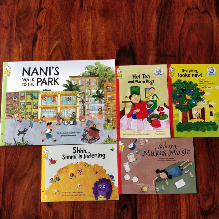 The Nestery: Pratham Books - SENSORY COMBO
