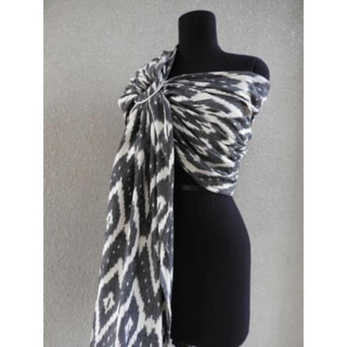 BLACK & WHITE DIAMOND IKAT - RING SLING
