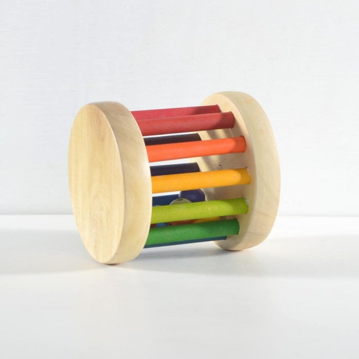 The Nestery : Chitrani - Shake And Rattle Baby Rolling Wheel Toy