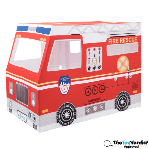 The Nestery : Role Play - Deluxe Playhouse Tent - Fire Truck