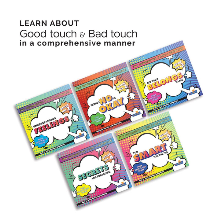 KEEP YOUR CHILD SAFE - BODY SAFETY SET OF 5 BOOKS