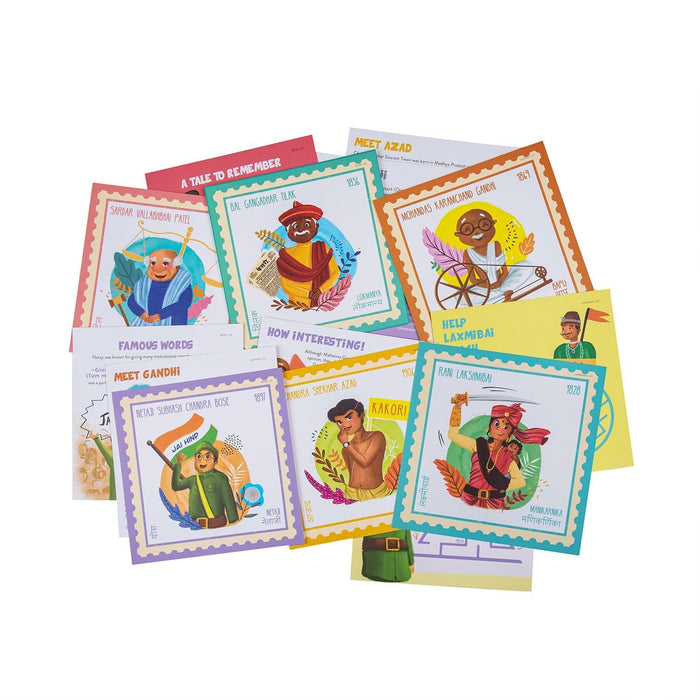 The Nestery: Saffron Stories - INDSIGHT CARDS - DISCOVER INDIA COMBO - Early learning flashcards