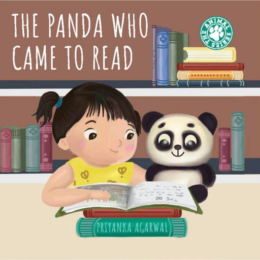 The Nestery : Sam and Mi - The Panda Who Came To Read