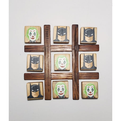 The Nestery : Scrapshala - Batman Vs Joker Tic Tac Toe