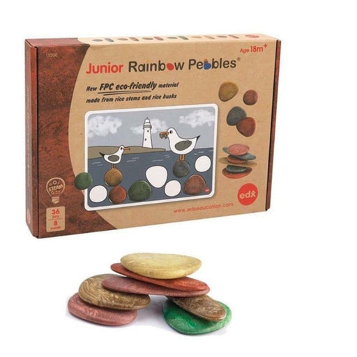 The Nestery : Sensory Play Co. - Sensory-Play-Co-Eco-Friendly-Junior-Rainbow-Pebbles