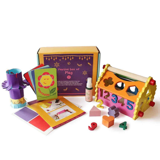 The Nestery: Shumee - FESTIVE BOX OF PLAY FOR BABIES (AGE 1+)